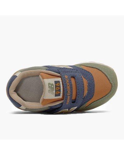 Zapatilla Adidas Yung-96 Blanca/Beige para niños