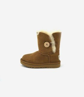 Bota Ugg Bailey Button Camel para niños
