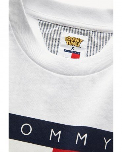 Tommy Camiseta Niña Looney Tunes Blanco