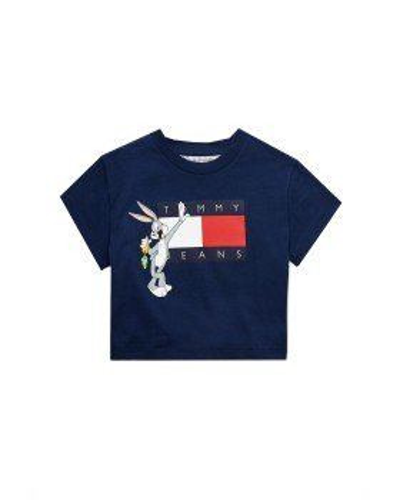 Tommy Camiseta Niña Looney Tunes Azul