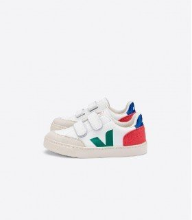 Veja V12 Leather Emeraude Pekin