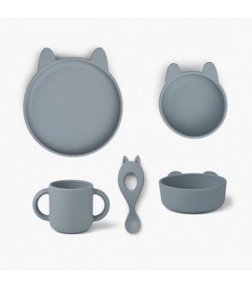 Liewood Vivi Silicone Set Rabbit