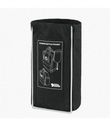 Kanken Bottle Pocket de Fjallraven Black