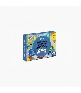 """OMY Stickers Decor Pocket """"Small Ville"""" COSTIK02"""