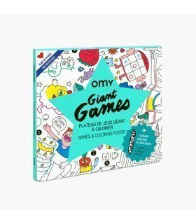 OMY Giant Games Poster POS63